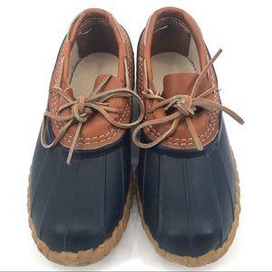 EUC L.L. Bean Rubber Moc Short Duck Boots Sz 8